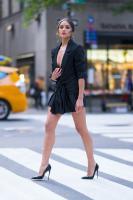 Olivia Culpo – Leggy Candids in New York