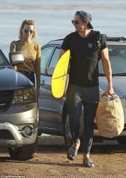 Margot Robbie - At the beach in Malibu 6/9/18