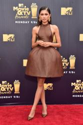 Zendaya - 2018 MTV Movie And TV Awards in Santa Monica (6/16/18)
