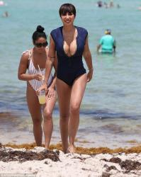 Jackie Cruz - Swimsuit candids in Miami 6/17/18