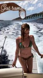 Tara Lipinski - Bikini Instagram Social Media Shots (6/20/18)