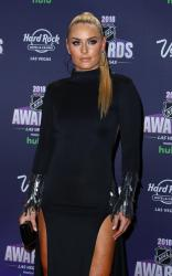 Lindsey Vonn - 2018 NHL Awards Red Carpet at Hard Rock Hotel and Casino Las Vegas (6/20/18)