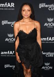 Kat Graham - amfAR GenCure Solstice 2018 at Second in NYC (6/21/18)