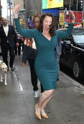 "Fran Drescher - After Her Appearance on ""Good Morning America"" in NY (6/21/18)"
