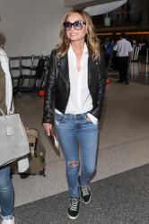 Giada De Laurentiis - Seen at LAX International Airport in Los Angeles (6/22/18)