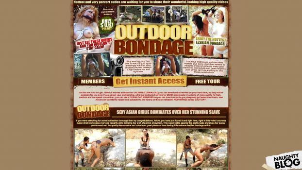 HotOutdoorBondage.com - SITERIP