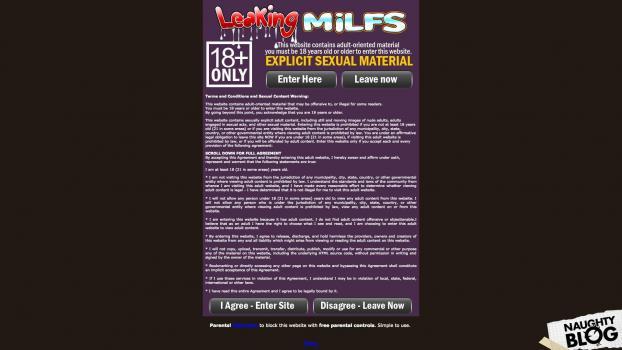 LeakingMilfs.com - SITERIP