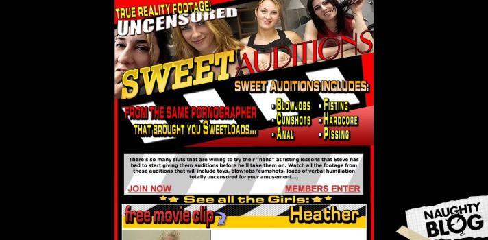 SweetAuditions.com - SITERIP