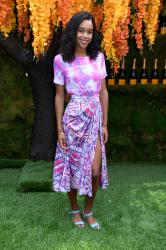 Laura Harrier - 11th Annual Veuve Clicquot Polo Classic in Jersey City 6/2/18