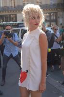Pixie Lott @ Schiaparelli Fashion Show in Paris   July 2   30 pics + 4 adds