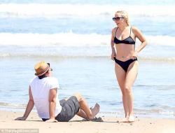 Lady Gaga - Bikini candids in The Hamptons 7/1/18