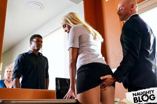 Big Tits At Work - Athena Palomino