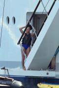 Lindsey Vonn - Swimsuit candids in Sardinia 7/4/18