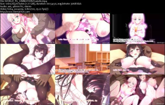 (18禁アニメ) [180427] [WORLD PG ANIMATION] ある日、ネットで見つけたのはヤリサーに●●撮りされた彼女の動画だった。The Motion Anime